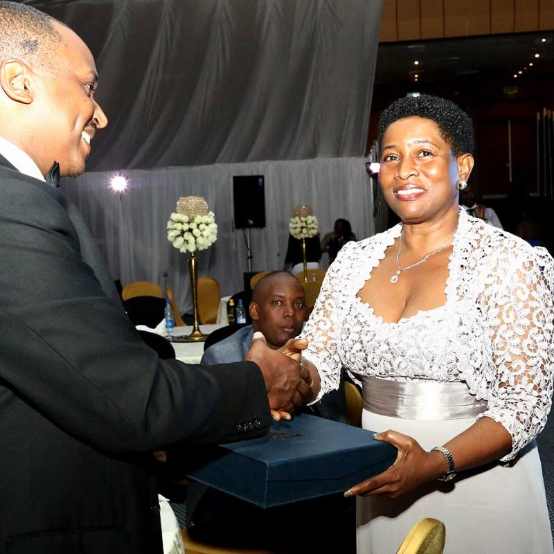 Lilian Keene Receives The Female Human Rights Lawyer Of The Year 2014 Award